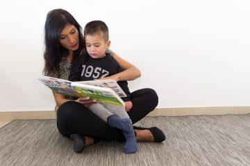 העשרת השפה באמצעות ספרי הילדים