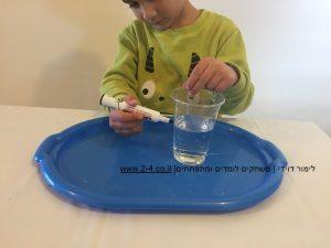 ניסוי נופח המים