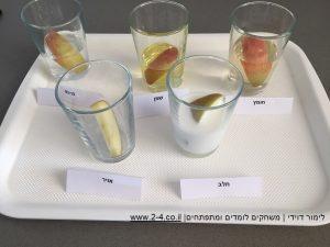 ניסוי תפוחים לראש השנה